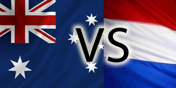 Nederland - Australië: 3-2