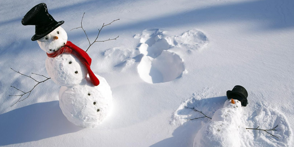 De eerste sneeuw van 2014